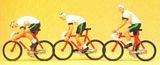 HO Cycling race Model Figures