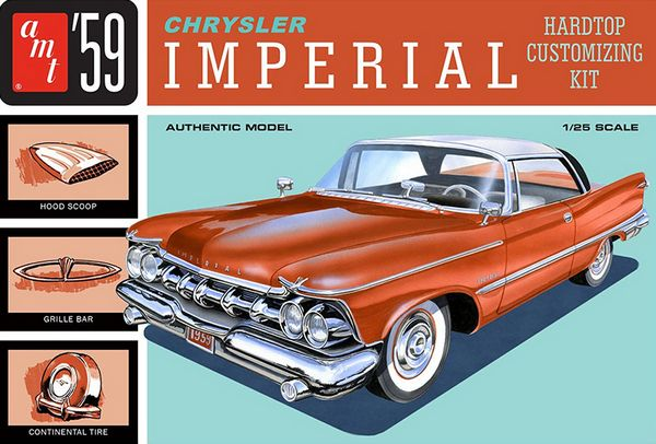 AMT 1136 1959 Chrysler Imperial