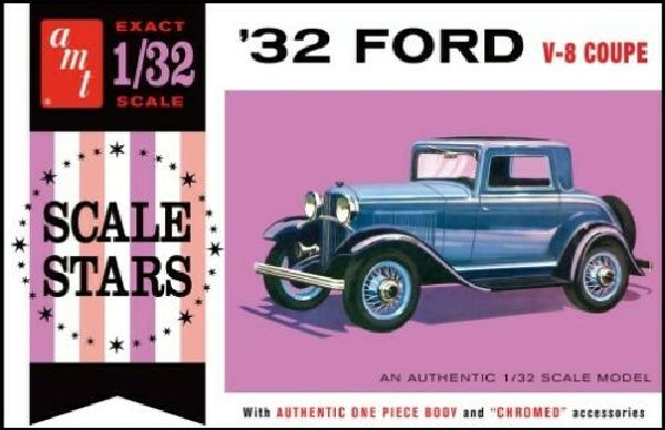 AMT 1181 1932 Ford 3 Window Coupe