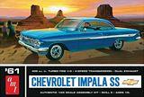 AMT 1013 1-25 61 Chevy Impala SS