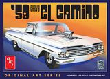 AMT 1058 1-25 1959 Chevy El Camino Original Art Series