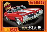 AMT 1105 1-25 1969 Olds W-30 442