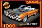 AMT 1137 1-25 1969 Plymouth GTX Convertible Cabriolet