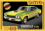 AMT 1138 1-25 1969 Chevy Chevelle Hardtop