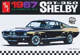 AMT 800 1-25 67 Shelby GT350 White