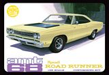AMT 849 1968 Plymouth Roadrunner Yellow