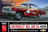 AMT 865 1962 Chevy Bel Air SS 409 Joe Gardner Racing Version