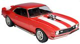 AMT 868 1-25 1968 Chevrolet Camaro Z-28 Plastic Model Kit