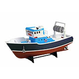 Artesania Latina 30531 Motorized Atlantis Fishing Trawler