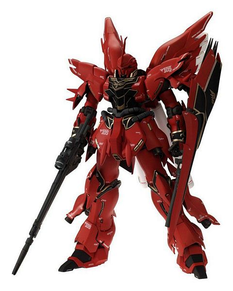Bandai 156877 MSN-06S Sinanju Mobile Suit MG