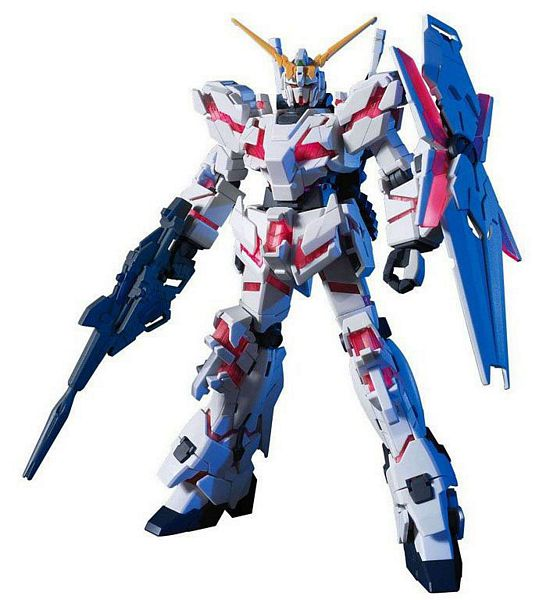 Bandai 161011 Gundam Unicorn Destroy Mode HG