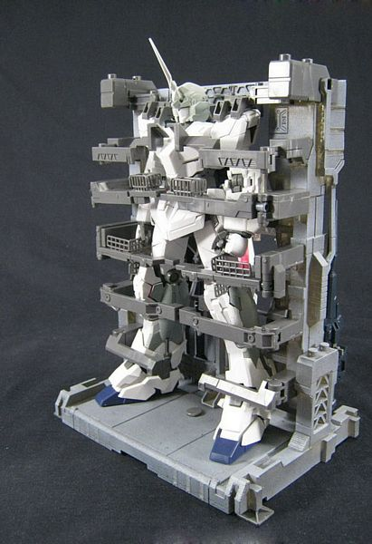 Bandai 162052 RX-0 Unicorn with Docking Cage MG