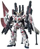 Bandai 207581 1-144 High Grade Century 199 RX-0 Destroy Mode Full Armor Unicorn Kit