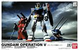 Bandai 104030 HGUC Gundam Operation Set V 1-144 HG Universal Century Model