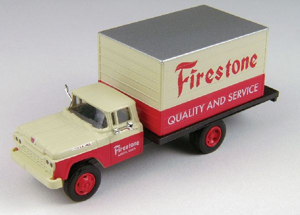 Classic Metal Works 30454 Ford F500 Box Body Delivery Truck