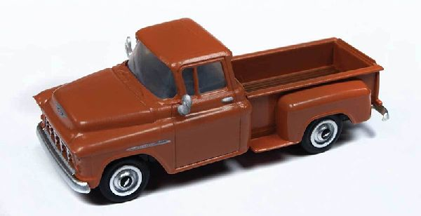 Classic Metal Works 30558 1955 Chevrolet Pickup Autumn Brown Truck