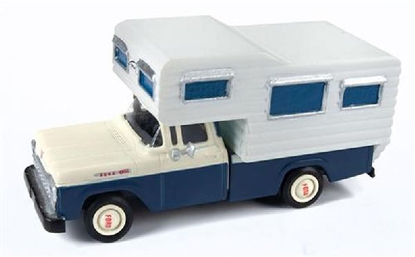 Classic Metal Works 30565 1960 Ford Camper Truck