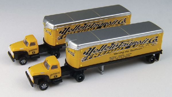 Classic Metal Works 51164 Ford Tractor with Trailer Pack of 2