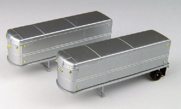 Classic Metal Works 51167 Aerovan Single Tandem Trailer Pack of 2