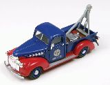 Classic Metal Works 30402 Chevrolet Tow Truck Red Crown Oil