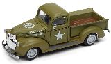 Classic Metal Works 30516 Chevrolet Pickup U S Army Truck