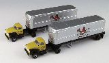 Classic Metal Works 51165 Ford Tractor with Trailer Pack of 2