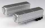 Classic Metal Works 51166 Aerovan Reefer Trailer Pack of 2