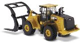 Diecast Masters 85950 972M Wheel Loader with Log Fork