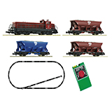 Fleischmann 931701 Em 44 and Railway Ballast SBB Starter Set