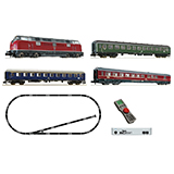 Fleischmann 931781 DB Diesel 212 and Express Train Starter Set DC