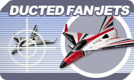 Kyosho Ducted fan airplanes.