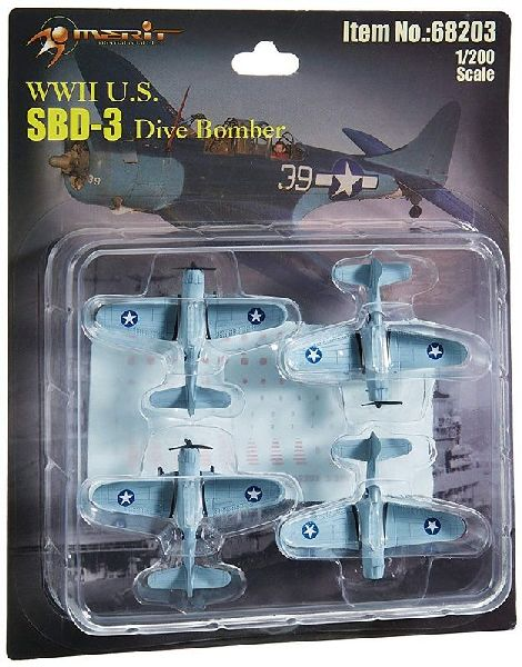 Merit 368203 WWII SBD 3 Fighter Planes