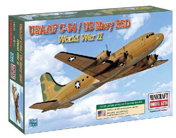 MiniCraft 14673 WW2 C54 USAAF and USN