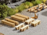 Noch NO14214 Piles of Planks for H0