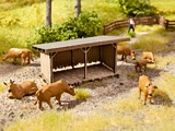 Noch NO14379 Cattle Shelter for H0
