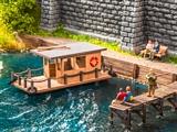 Noch NO14437 House Boat for TT
