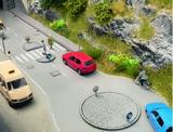 Noch NO14690 Traffic Island Set for N