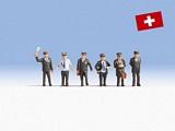Noch NO15266 Swiss Railway Officials for H0
