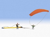 Noch NO15886 Paragliders for H0