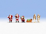 Noch NO15920 Santa Claus and Angels for H0