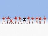 Noch NO15979 Football Team for H0