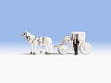 Noch NO16706 Wedding Carriage for H0
