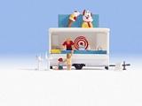 Noch NO16732 Ice Cream Trailer for H0