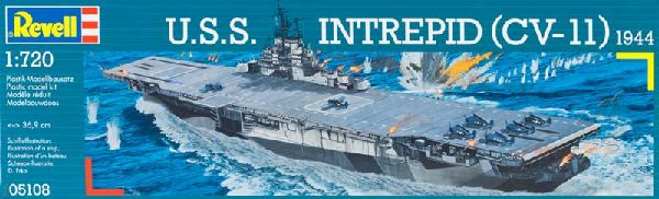 Revell 05108 1:720 Uss Intrepid