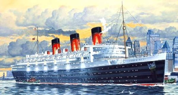 Revell 05203 1-570 Queen Mary