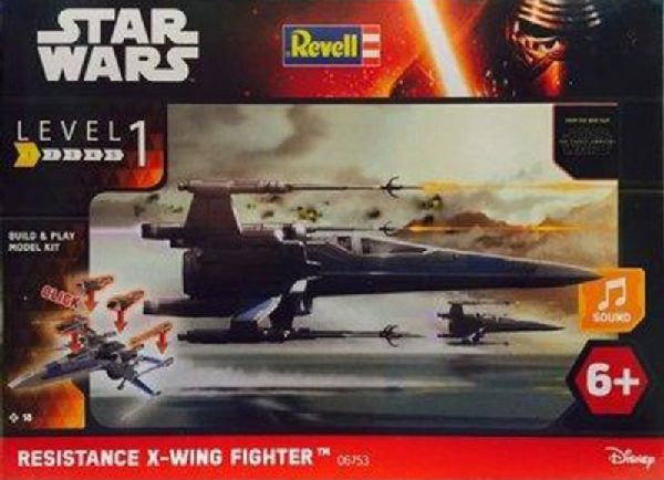 Revell 851837 Resistance X-Wing Fighter