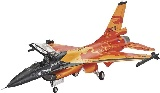 Revell 03980 F-16 Mlu Solo Display Klu