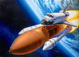 Revell 04736 Space Shuttle Discovery plus Booster Rockets