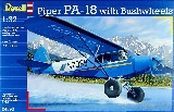 Revell 04890 Piper PA18 with Bushwheels