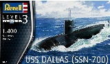 Revell 05067 US Navy Submarine USS Dallas